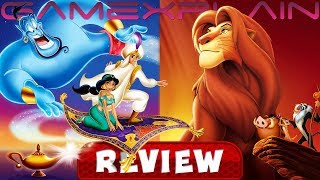Aladdin and The Lion King - REVIEW (Disney Classic Games - Switch) (Video Game Video Review)