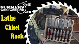 061 How To Make A Lathe Chisel Rack