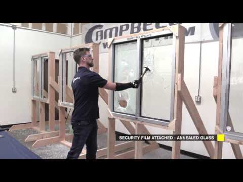 How Does Security Window Film Really Work? | Campbell Security | Riot Glass