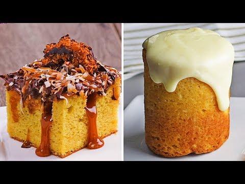Tarta Poke y Otras Deliciosas Tartas Individuales para Chuparte los Dedos | So Yummy Español Dessert Videos Your Videos