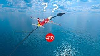 E SE O AVIÃO DER PROBLEMA NO MEIO DO OCEANO? EP. 410