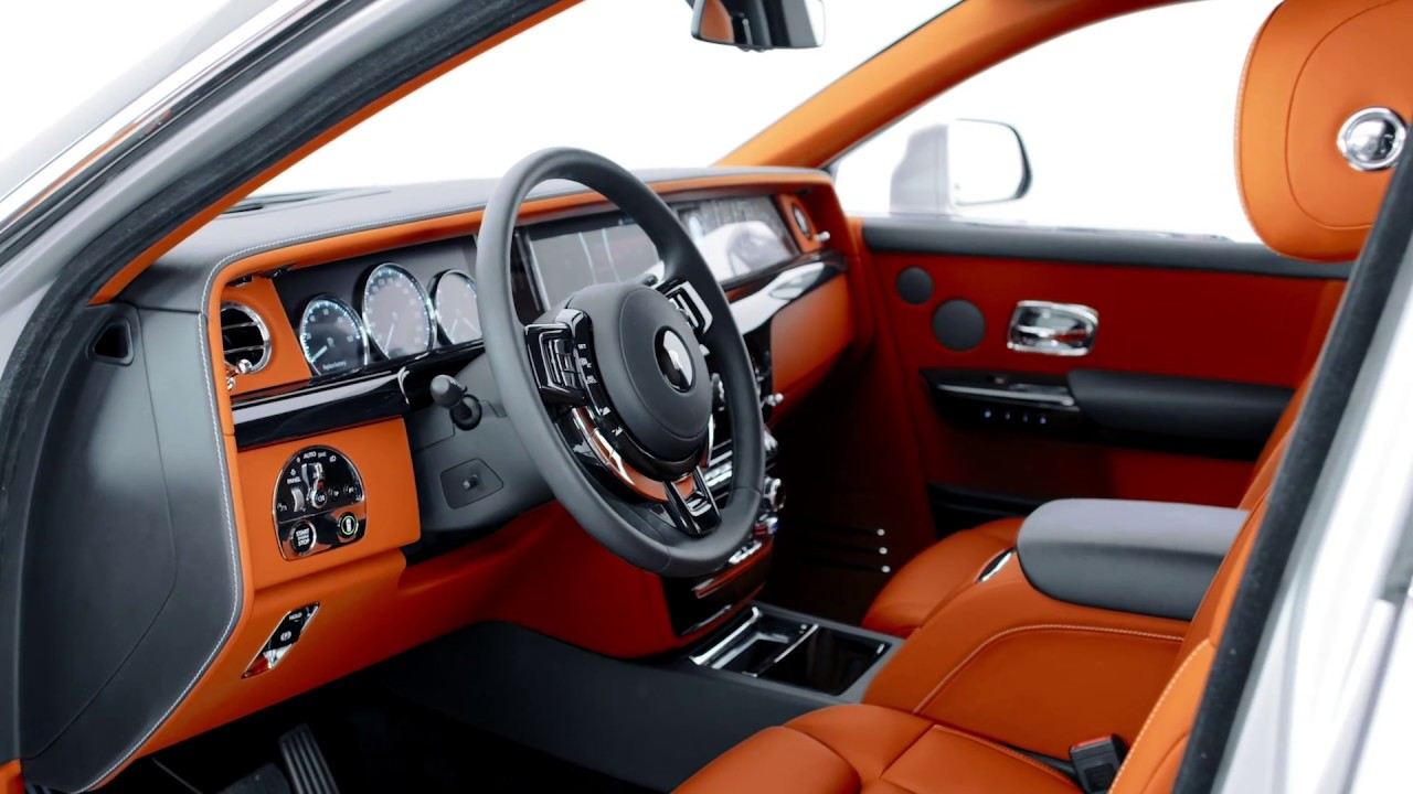 2018 Rolls Royce Phantom Interior Design