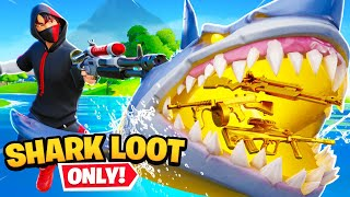 The SHARK LOOT *ONLY* Challenge!