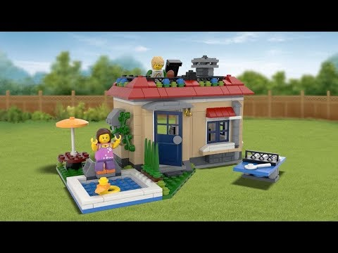 Poolside Holiday - LEGO Creator 3in1 - 31067 - Product Animation