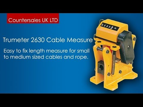 Trumeter 2630 Cable Measure Counters
