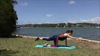 20 Minute Fat Burner Body-Weight & Pilates Workout | Outdoor Workout