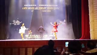 Liên hoan ảo thuật toàn quốc lần 3 năm 2018 HCM , tiết mục  đạt huy chương vàng DẠY ẢO THUẬT