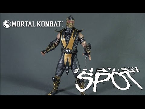 Collectible Spot - WorldBox Mortal Kombat Scorpion Sixth Scale Figure