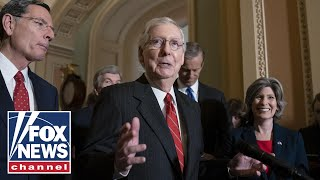 GOP Senator 'disturbed' by McConnell's impeachment approach