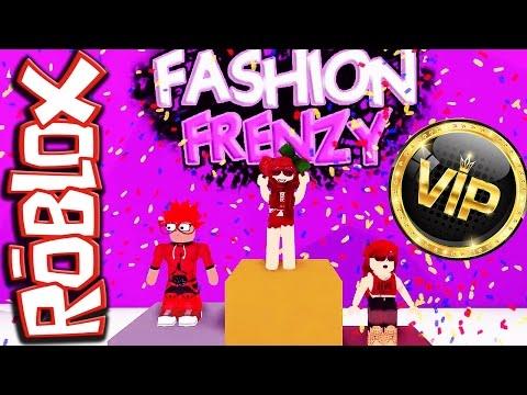 Fashion frenzy roblox juego gratis