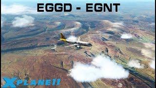 [X-Plane 11] JARDesign A320 Neo | Bristol (EGGD) ✈ Newcastle (EGNT) | Ortho4XP