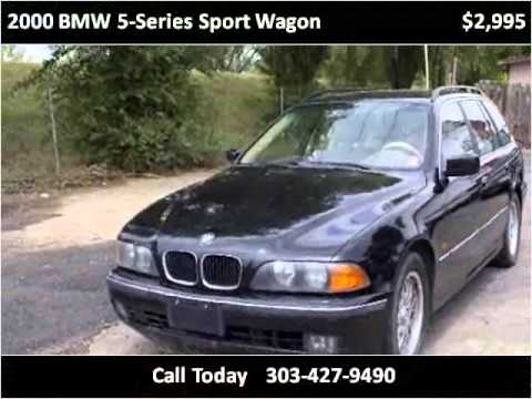 2000 bmw 5 series sport wagon used cars denver co youtube. Black Bedroom Furniture Sets. Home Design Ideas