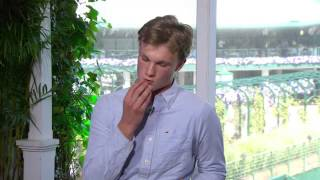 Josh Berry - AMAZING tennis impressions (HD)