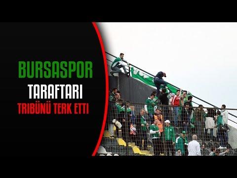 BURSASPOR TARAFTARI STADYUMU TERK ETTİ!