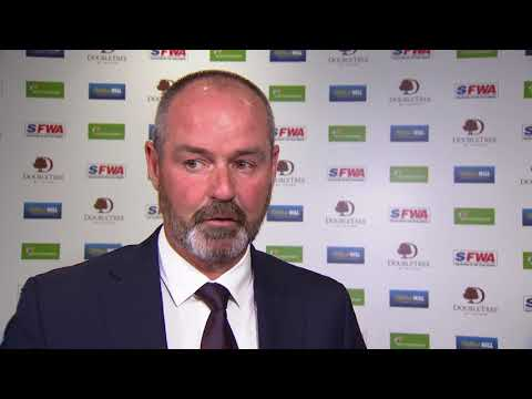 Steve Clarke manager of the year