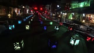 長野灯明まつりをドローン撮影…もどき(4K)