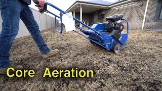 How To Core Aerate Your Lawn | Lawn Renovation