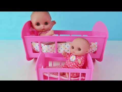 Пупсики   Большои и Маленькии Играем в Куклы Видео Игрушки для Девочек Зырики ТВ Детский канал