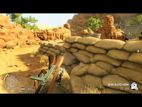 Sniper Elite 3  Going all sneaky  