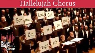Download Boston Gay Men's Chorus Hallelujah Chorus MP3 song and Music Video