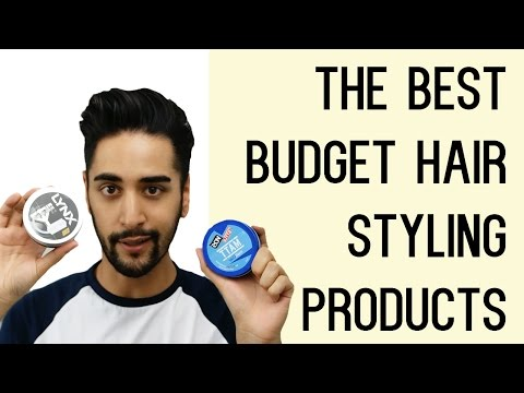 The Best Budget Hair Styling Products For Men Tried And Tested! (Men's Hair) ✖ James Welsh