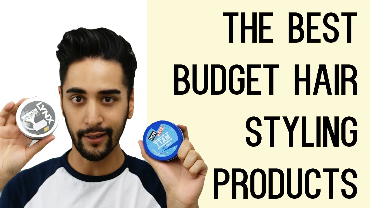 The Best Budget Hair Styling Products For Men Tried And