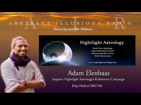 Abstract Illusions Radio With Adam Elenbaas, Nightlight Astrology