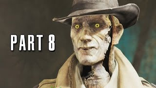 Fallout 4 Walkthrough Gameplay Part 8 - The Mayor (PS4)