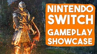Dark Souls: Remastered | Nintendo Switch | Final Release Docked Gameplay Footage | 30FPS & Bad Audio