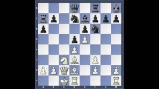 Chebanenko afbrigðið - Módelskák 4. e3 Anand - Morozevich 2001