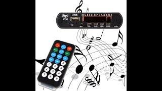 Установка MP3 FM декодера Music Speakers в авто