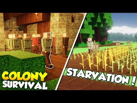 TOO MANY COLONISTS & STARVATION! - Colony Survival Gameplay [Ep 5] - Kingdom Building!