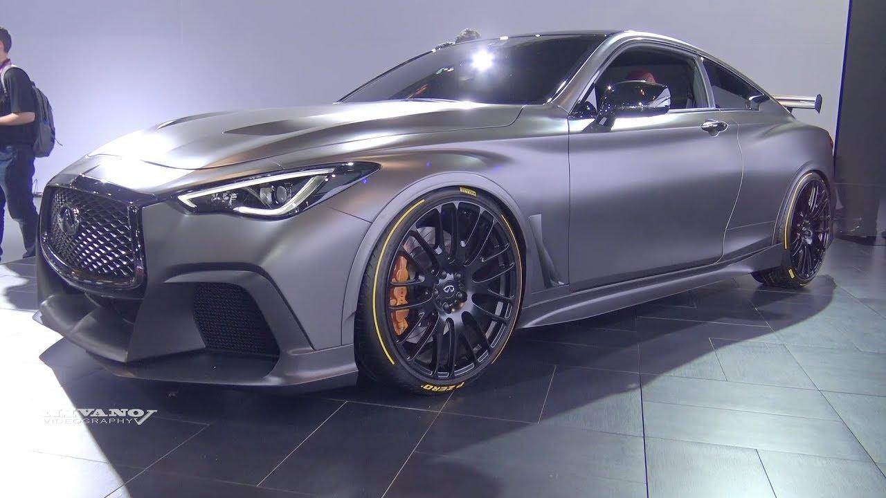 Infiniti Q60 Project Black S Exterior And Interior Walkaround 2018 Toronto Auto Show