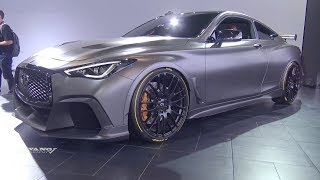Infiniti Q60 Project Black S - Exterior And Interior Walkaround - 2018 Toronto Auto Show
