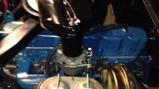 1965 Chevy truck with 230 inline 6 first fire up