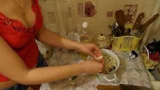 Маринованная скумбрия с луком