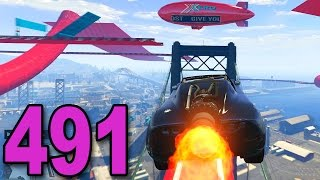 Grand Theft Auto 5 Multiplayer - Part 491 - INSANE ROCKET VOLTIC RACE