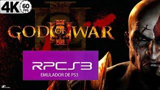 GOD OF WAR 2 HD (RPCS3) | I7 4790K + GTX 1070 | RODANDO EM 4K 60FPS
