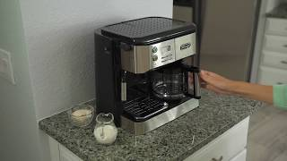 DeLonghi Combination Coffee and Espresso Machine | HSN