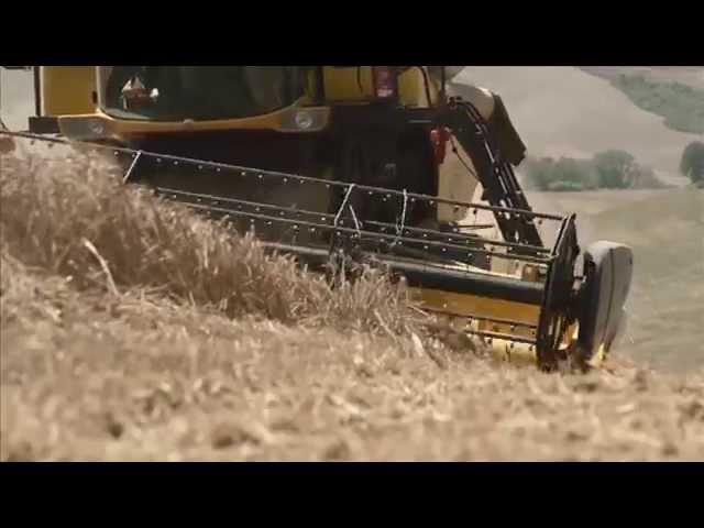BKT AGRIMAX TERIS during harvesting 3