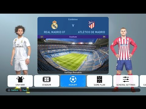 PES 2019 PS4 PESUniverse Option File v1 [Downloads]