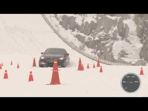 audi quattro vs bmw xdrive vs mercedes 4matic snow test