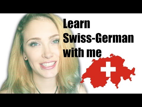 Learn Swiss-German with me #1
