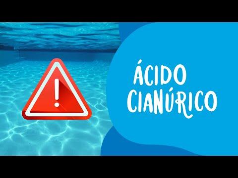 O Cloro da sua piscina, tem ácido cianúrico?