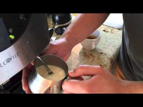 how to make cappuccino milk