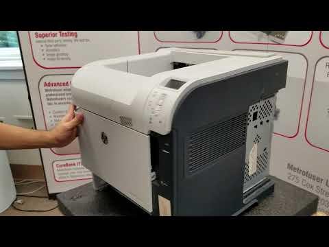 HP M601 M602 M603 Fuser & Maintenance Kit Replacement Instructions part number CF064-67901