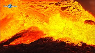 LAVA IS FLOODING WITH 30 CUBIC METERS/SEC !!! - Iceland Volcano Eruption - June 10, 2021