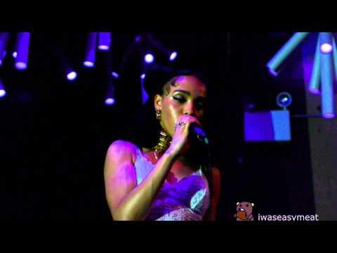 FKA twigs - Papi Pacify (NYC DEBUT live @ Glasslands 4/16/14)