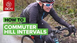 How To Train On Your Commute | HIIT Hill Reps
