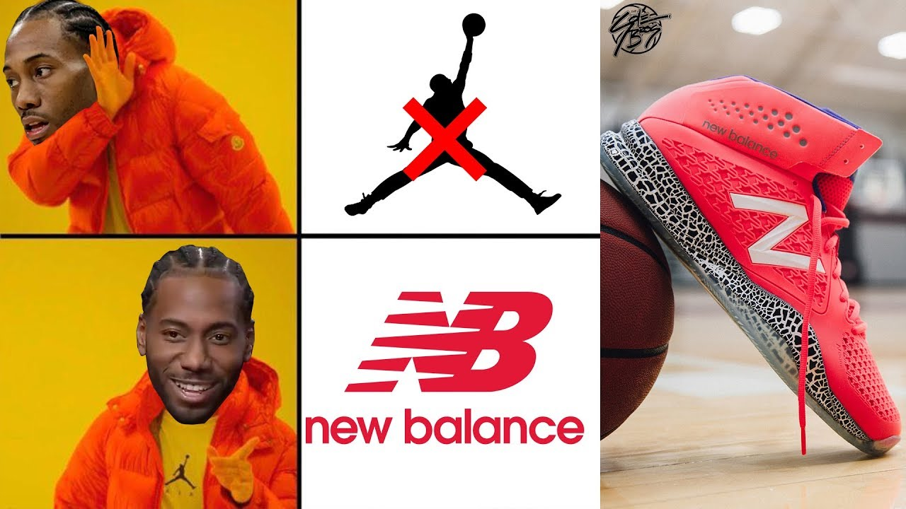Kawhi Leonard Leaves Jordan Brand & Signs Multi Year Deal with NEW BALANCE!